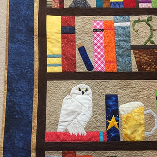 Close ups of finished quilt.