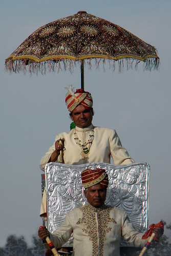 Jaipur Elephant Festival (with umbrella)