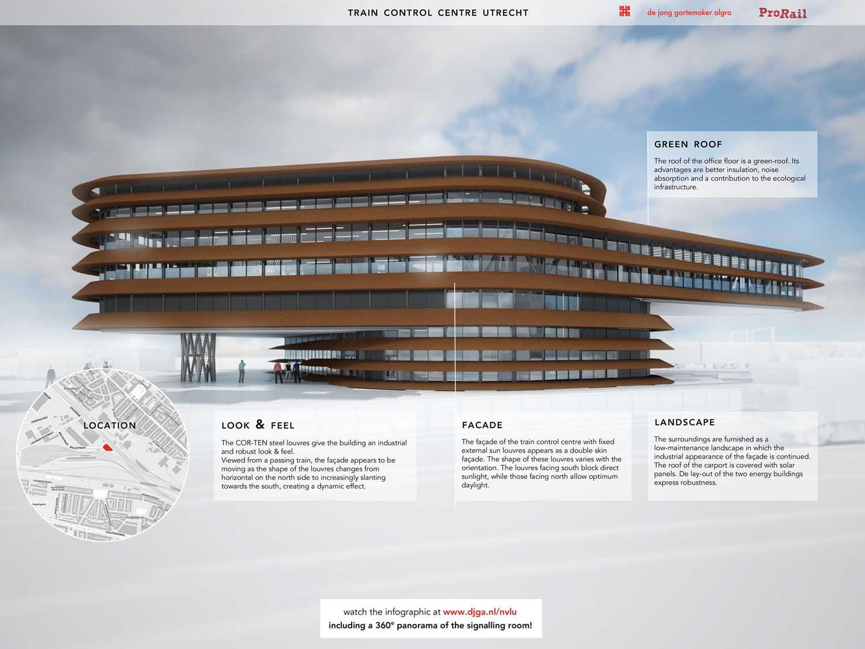mm_Train khiển Centre Utrecht thiết kế bởi de Jong Gortemaker Algra_21