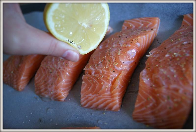Запеченный лосось. Просто и быстро