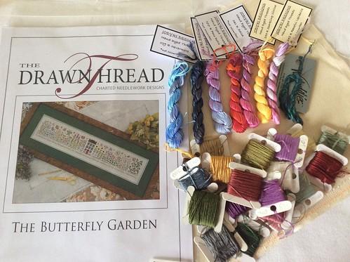 Butterfly Garden Materials