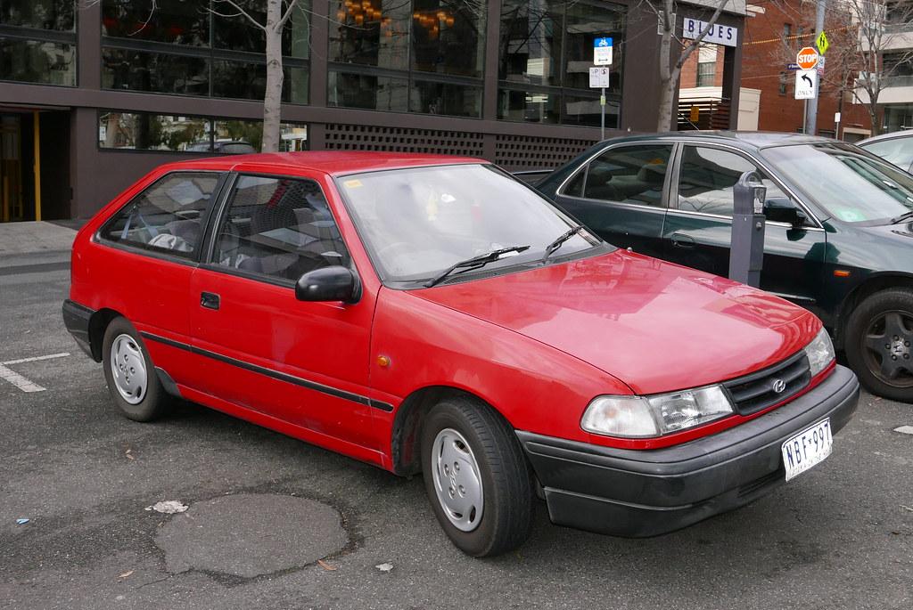 1994 Hyundai Excel X2 Sprint 3 Door Hatchback
