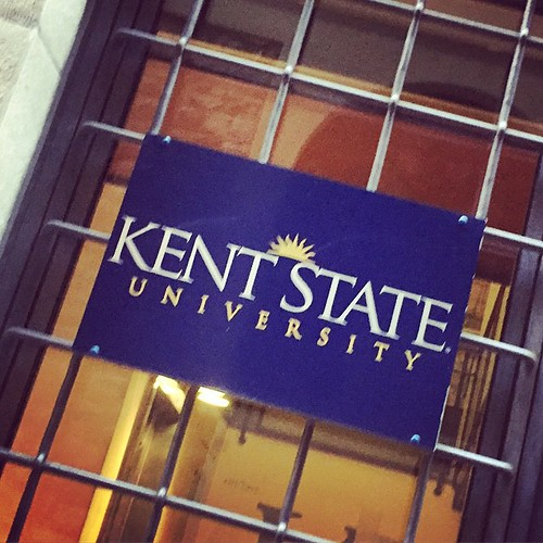 Randomly walking down an alley in #Florence and found this sign for #KentState! #Ohio #travel #remoteyear #Italy | by cassandrautt