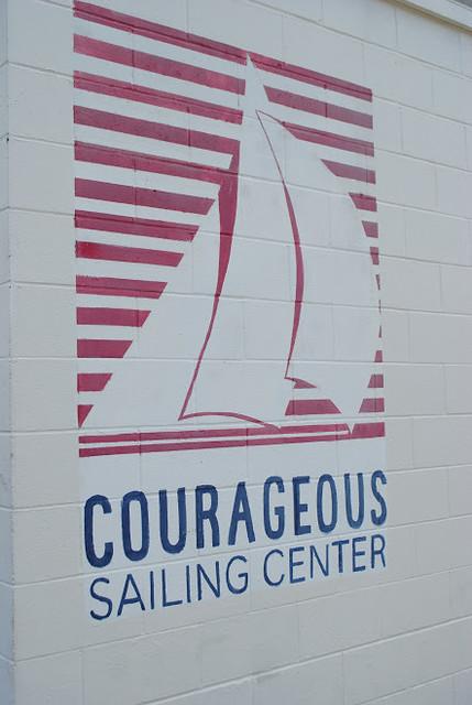 Courageous Sailing