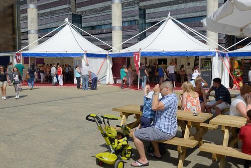 Cardiff Bay Food Festival Stalls
