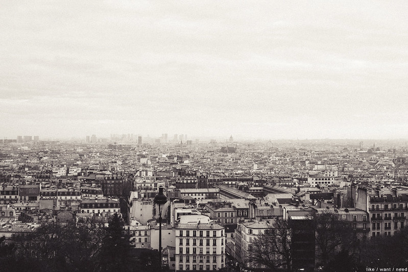View from Sacré-Cœur