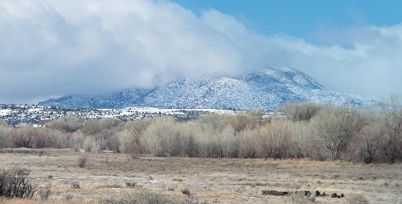 Granite Mountain in a cloud