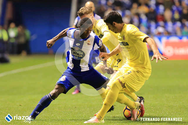Temporada 16/17. RC Deportivo 0 - Villarreal CF 0