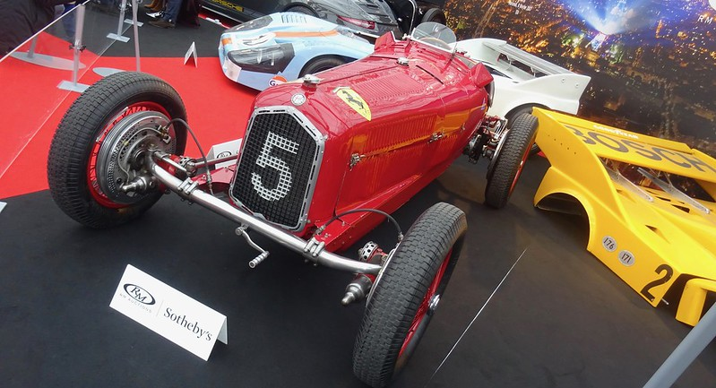 Alfa Romeo tipo B / P3 monopsto 1934 - Paris Invalides Fev 2017 32724505185_aa9d703e42_c