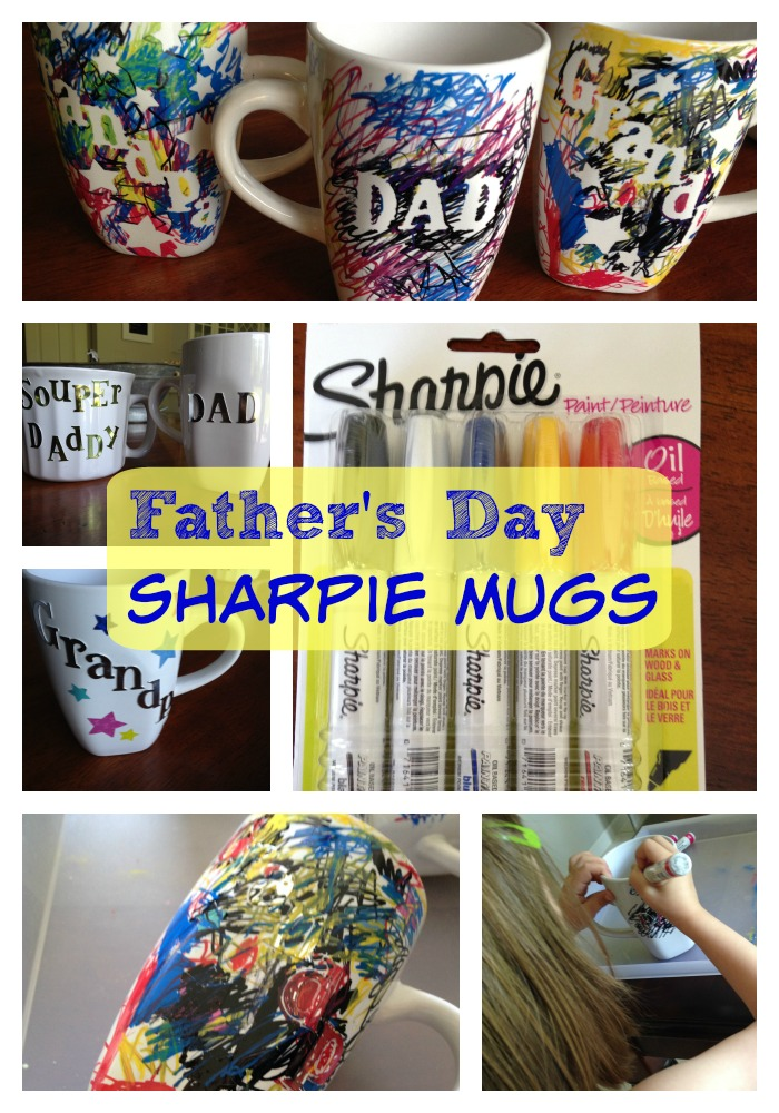 DIY Gift Sharpie Mugs