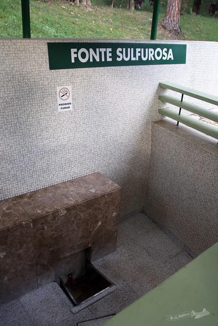 Fonte Sulfurosa - Parque das Águas de Cambuquira 2015