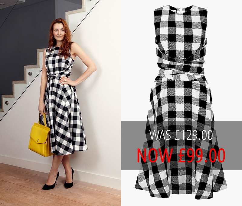 Summer sales | Hobbs black and white Twitchill gingham dress