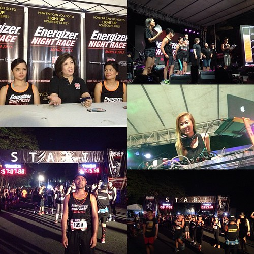 #EnergizerNightRace was able to raise 1M for their chosen foundation - Bantay Bata #running #energizer In giving positive energy