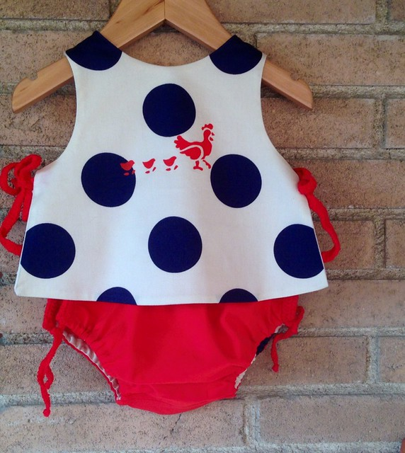 polka dots 2 piece set 0/6 months