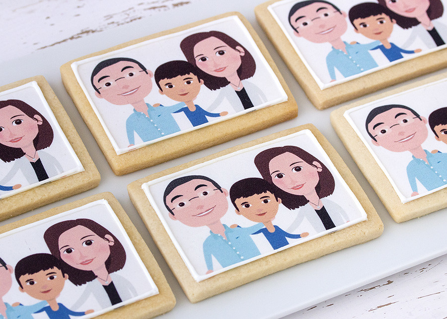 Galletas retrato