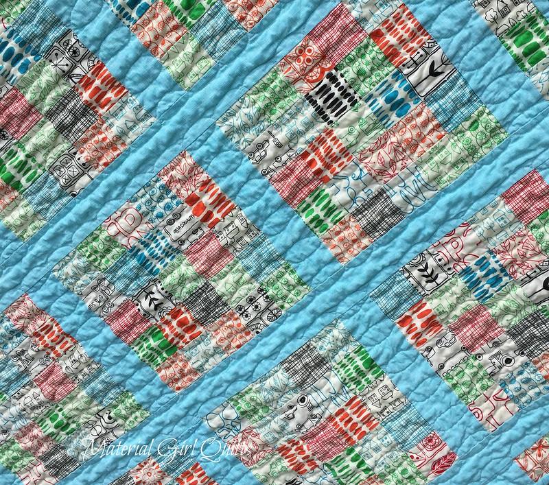 Summersville quilt detail