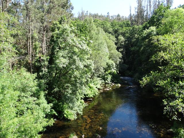 Río Mandeo en la ruta SM.08 Ambalasaugas - As Pías