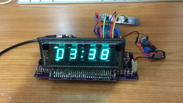 VFD Clock Alarm - Final Build