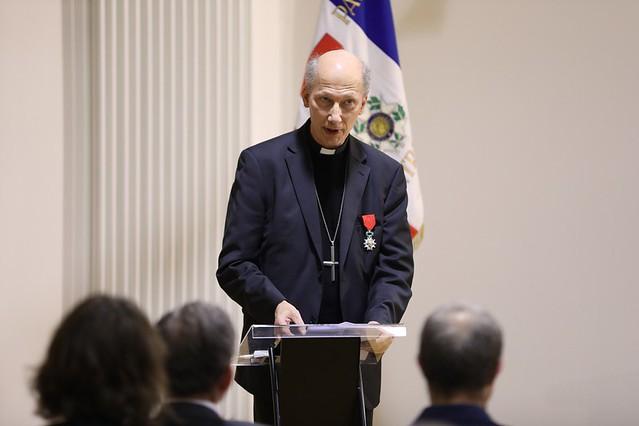 Légion d'Honneur Mgr d'Ornellas