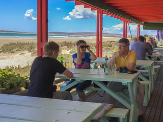 Lunch im Voorstrandt Restaurant, Paternoster