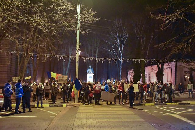 """""""Abrogați Ordonanța Rușinii"""" - protest - Tecuci - 03 februarie 2017"""