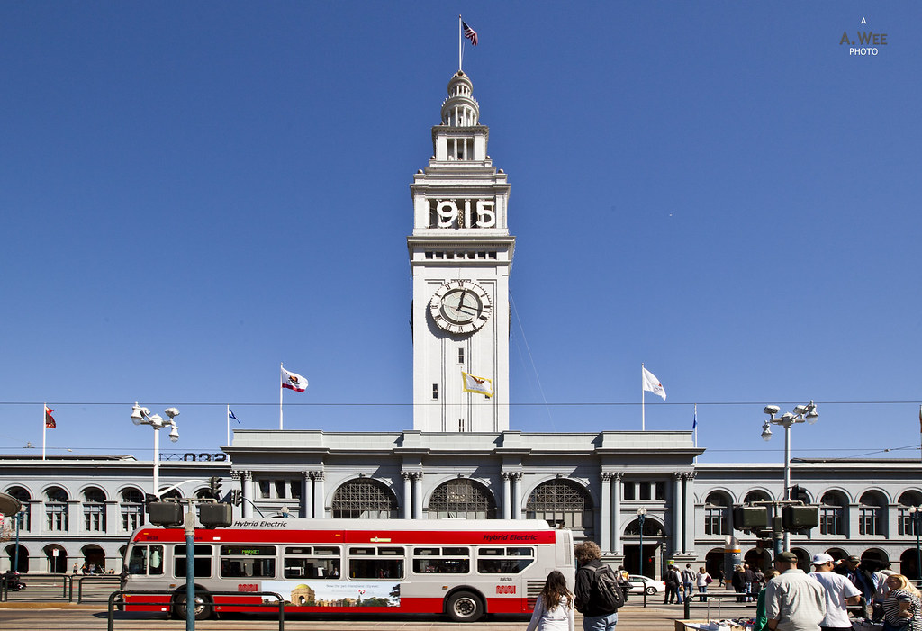 Ferry Building at Embarcadero