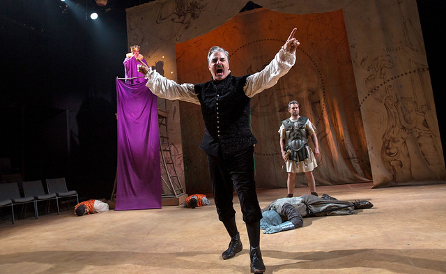 "Chris Noth in ""Doctor Faustus"" at the Classic Stage Company"