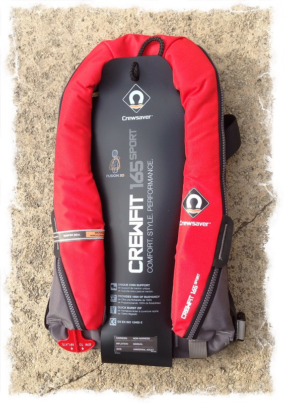Crewsaver Crewfit 165N Sport Manual With Harness Lifejacket