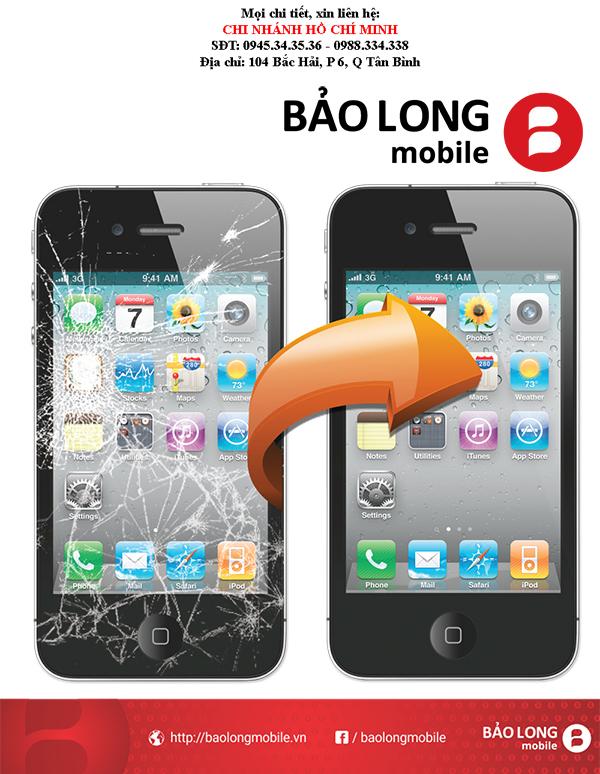 Thay màn hình iPhone 4s - Giải pháp xử lý và khắc phục sự cố tình trạng chất lượng màu sắc sau khi thay