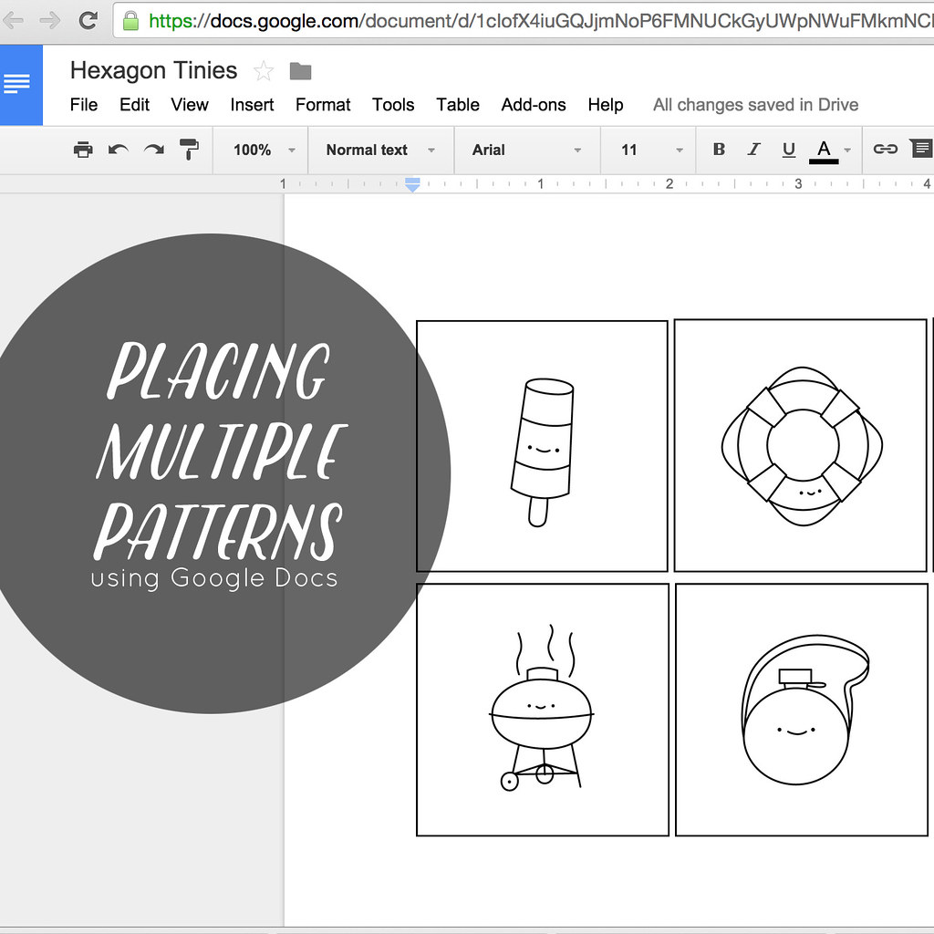 Placing & Printing Multiple Patterns