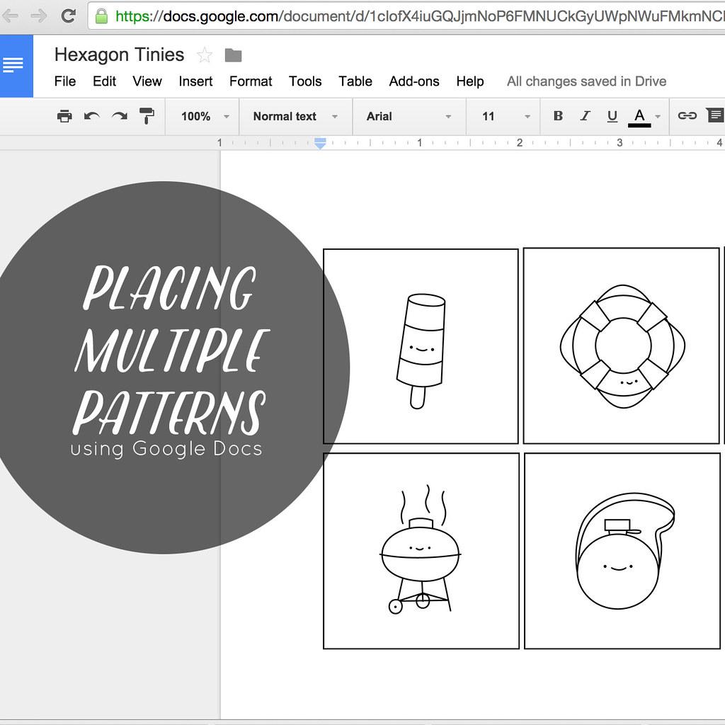 Placing & Printing Multiple Patterns