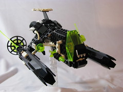 Piranha Fighter 1 by BricksandBoosters