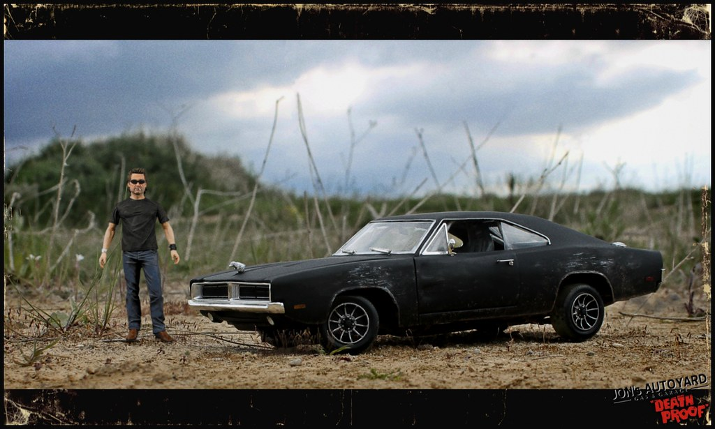 1 18 Death Proof Dodge Charger Anyone That Saw Quentin