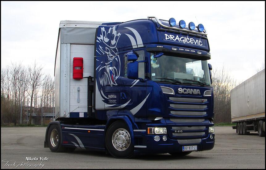 dragicevic transport new scania r410 streamline tl srb. Black Bedroom Furniture Sets. Home Design Ideas