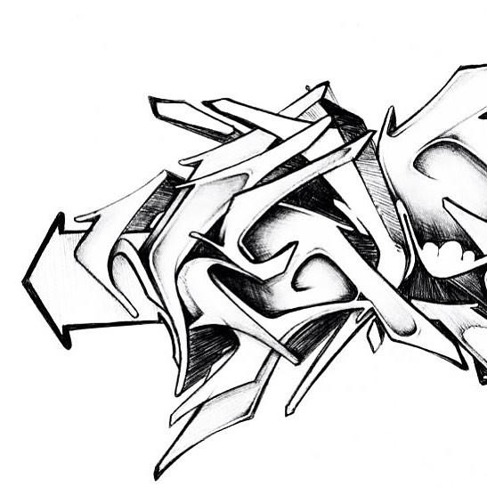 sketch he wild letters herz1 letters wildstyl flickr