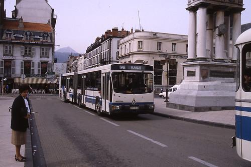 jhm 1990 0158 france clermont ferrand autobus renault. Black Bedroom Furniture Sets. Home Design Ideas