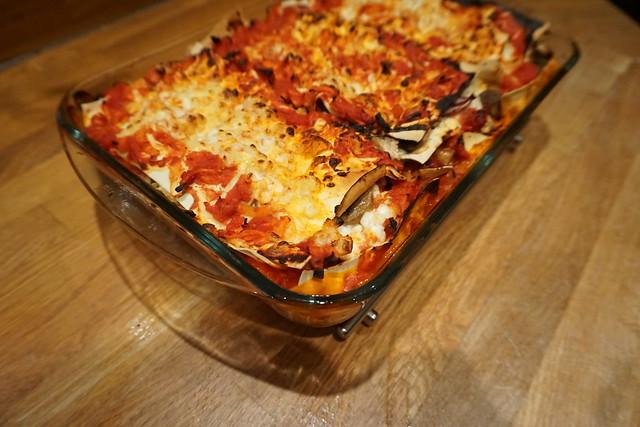Vegetarisk lasagne alá vad som finns i kylskåpet - 5