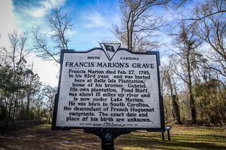 Francis Marion Grave at Belle Isle-001 | by RandomConnections
