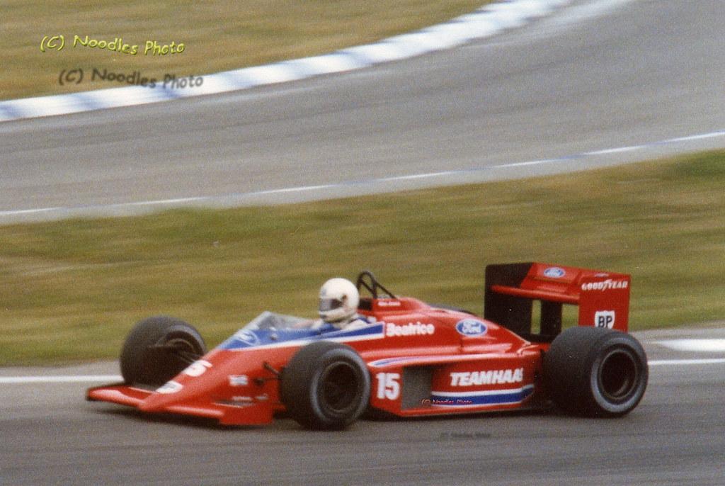Alan Jones - Haas Lola THL2 Ford Cosworth | German Grand Pri… | Flickr