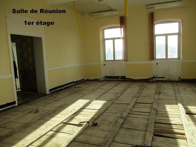 Rénovation Mairie - Locaux après désamiantage