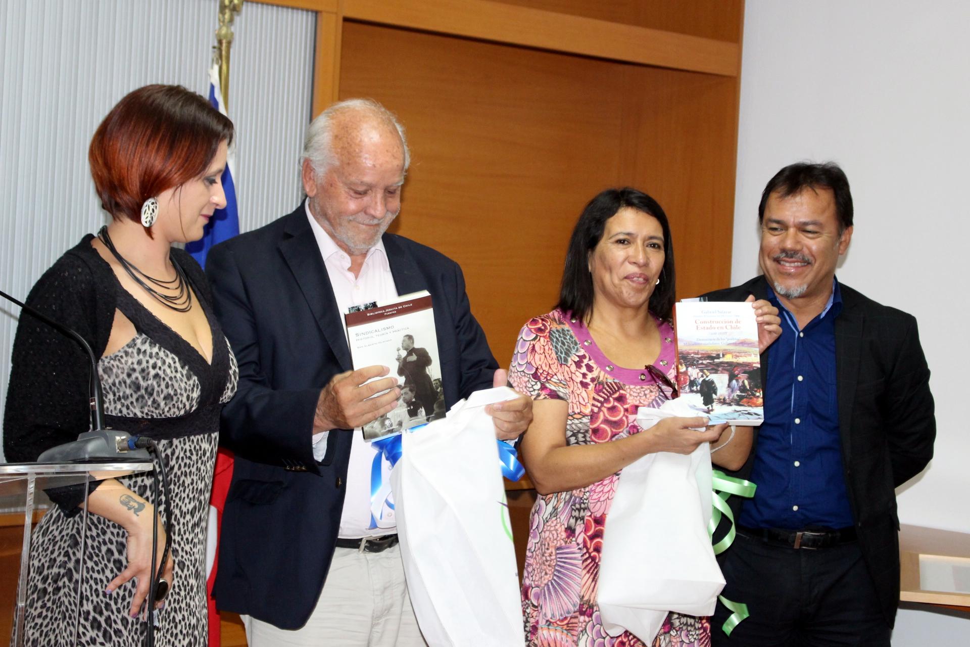 AFUSEC participa en homenaje y reconocimiento de Raúl de la Puente y Nury Benítez - 13 Enero 2017