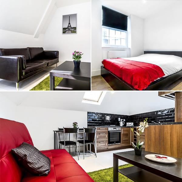 Liverpool Street House, de los mejores apartamentos de Londres donde dormir por cuatro duros
