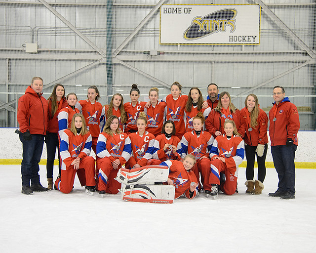 Jan 15, 2017 - EGRT Calg - U14AA Red wins Silver