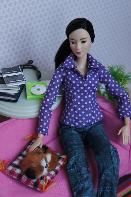 Barbie made to move Neko