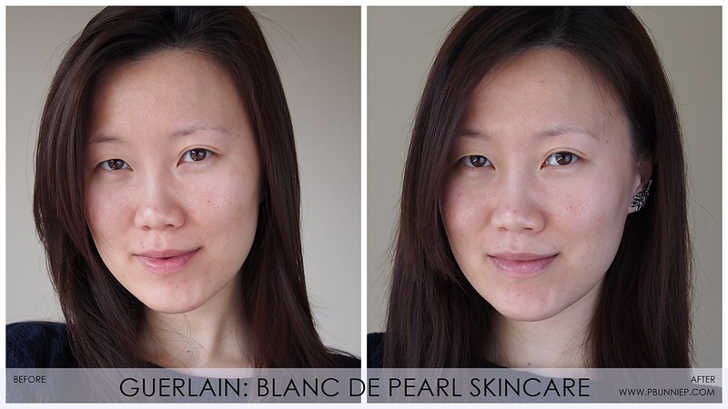 Guerlain BlancDePearl Review beforeafter