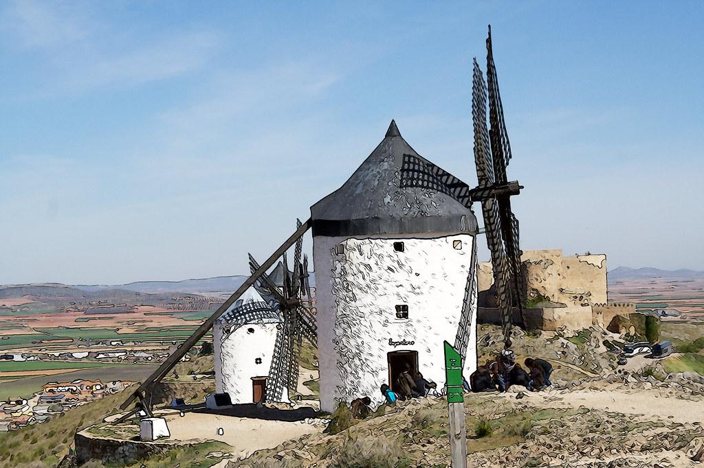 molinos del Cerro Calderico