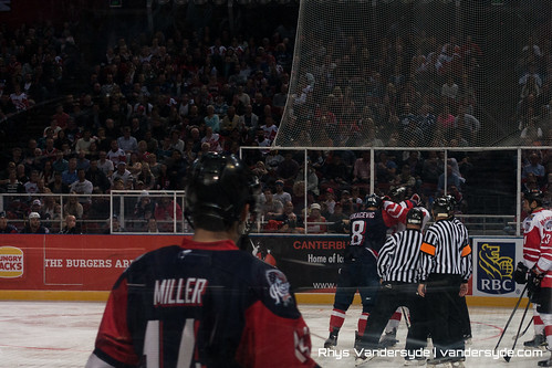 USA vs Canada Ice Hockey in Sydney – 2015