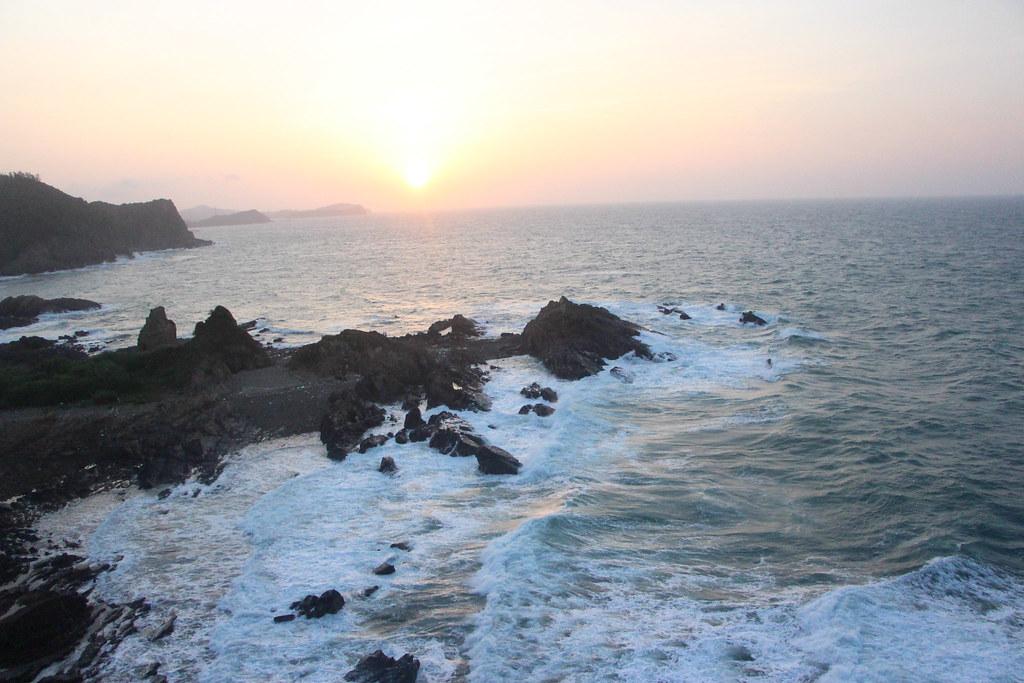 Bức ảnh chưa qua hậu kỳ được chụp trên biển Cô Tô
