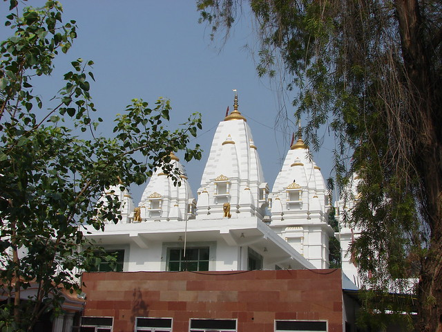 A front outside view of main panch shikhar