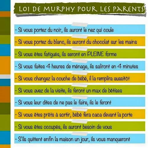 loi de murphy parents